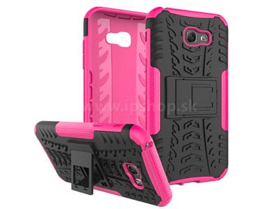 Spider Armor Case Pink - ochranný outdoorový kryt (obal) na Samsung Galaxy A5 2017 růžový