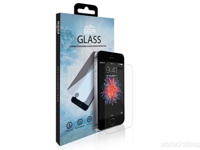 EIGER Glass - Ultra odolné temperované tvrdené sklo na displej pre Apple iPhone  5S   iPhone fcccc9bc6ef
