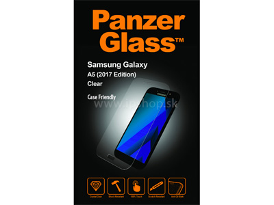 Panzerglass Edge To Edge Case Friendly Glass na Samsung Galaxy A5 2017 - tvrdené ochranné sklo na displej **AKCIA!!