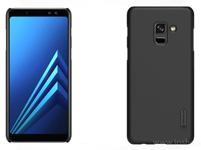 Exclusive SHIELD Black - luxusn� ochrann� kryt (obal) �ierny na Samsung Galaxy A8 (2018)