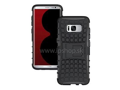 Odolný outdoorový ochranný kryt (obal) Spider Armor Black (černý) na Samsung Galaxy S8