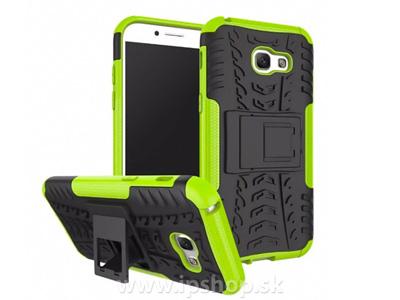 Spider Armor Case Green - ochranný outdoorový kryt (obal) na Samsung Galaxy A5 2017 zelený
