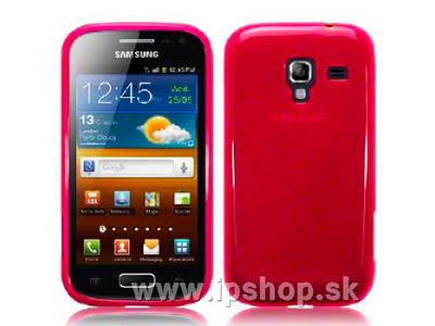 Ochranný gelový/gumový kryt (obal) na Samsung Galaxy Ace 2 i8160 růžový