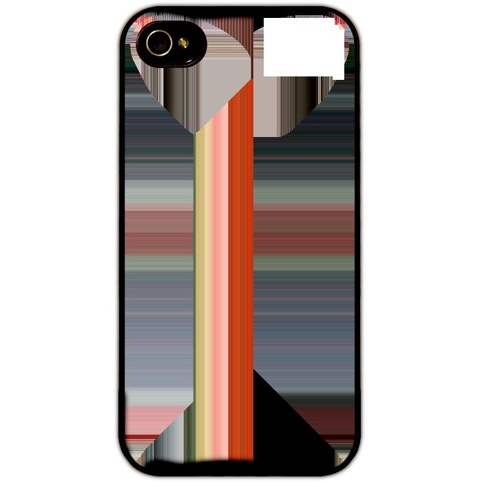 Kryt (obal) s potiskem (vlastní fotkou) s černým plastovým okrajem pro iPhone 4/4s + fólie na displej