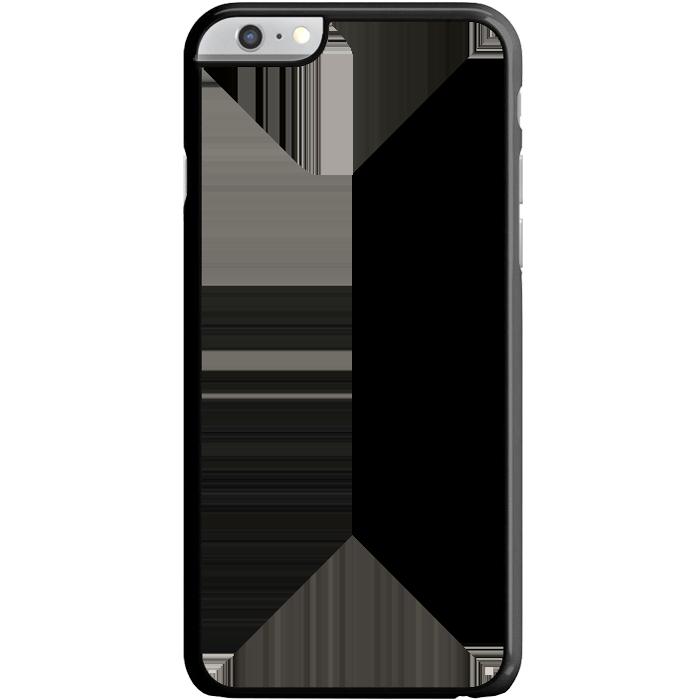 Kryt (obal) s potlačou (vlastnou fotkou) s čiernym plastovým rámčekom pre  Apple iPhone 6 Plus  6S Plus (5.5