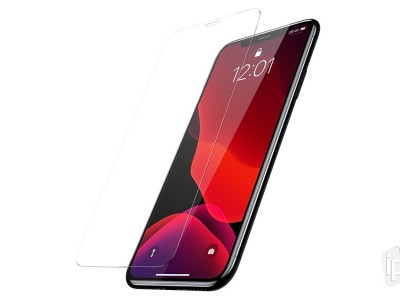 Baseus 2x Tempered Glass Clear (číre) - 2x 2D Tvrdené sklo na displej pre Apple iPhone 11 / XR