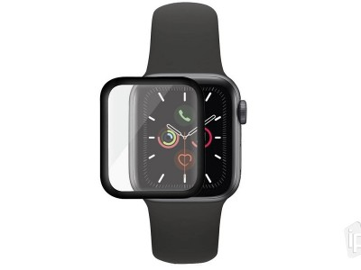 PanzerGlass Performance Solutions Black (čierne) - Tvrdené ochranné sklo na Apple Watch 4 / 5 40mm
