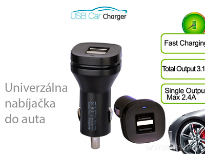 Avantree Universal Dual USB Car Adapter 3.4 A (TR203)