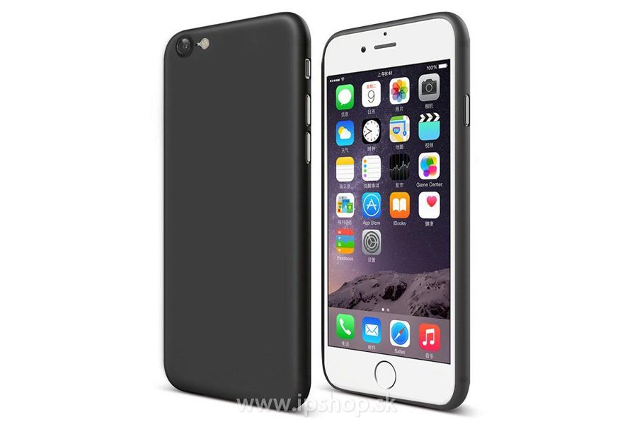 Luxusný ochranný kryt (obal) Cafele Ultra Slim Deep Black (matný čierny) na  Apple iPhone 7   iPhone 8 f7dd7081405