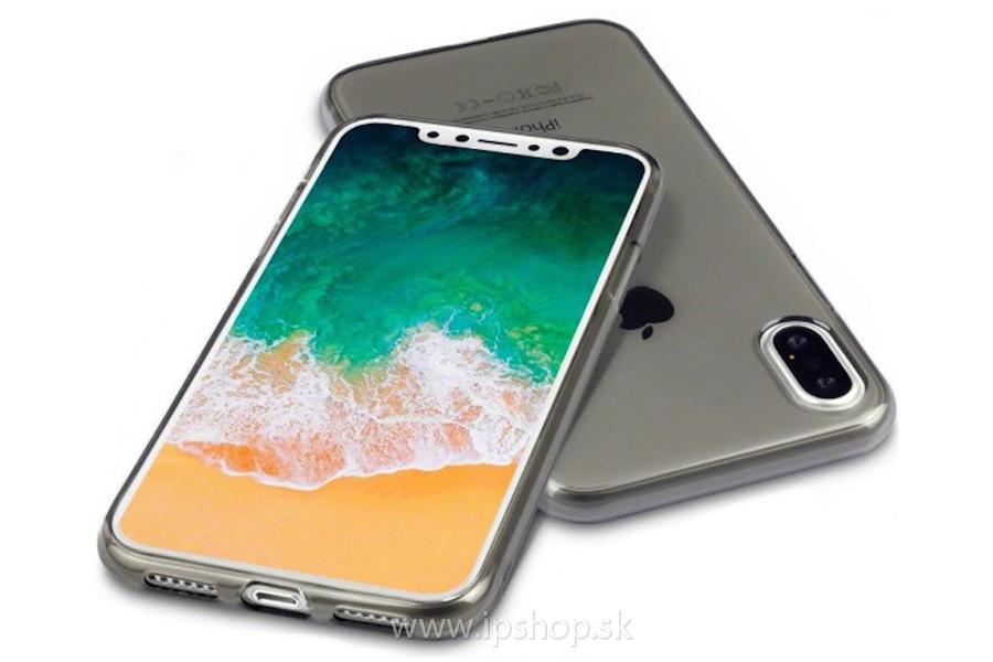 Ochranný gelový kryt (obal) TPU Smokey Black (dymový šedý) na Apple iPhone f152ab1eed6