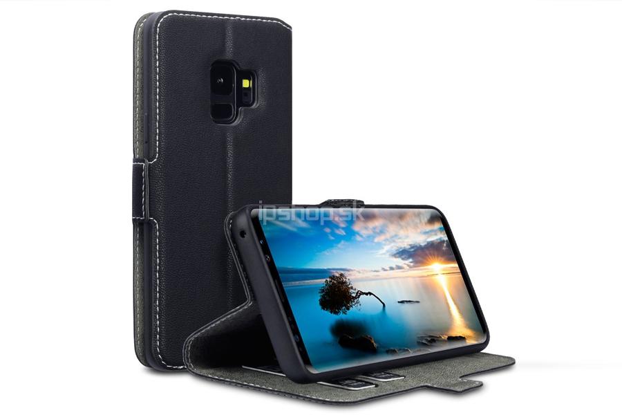 0c259983c Peňaženkové puzdro čierne pre Samsung Galaxy S9 - iPshop