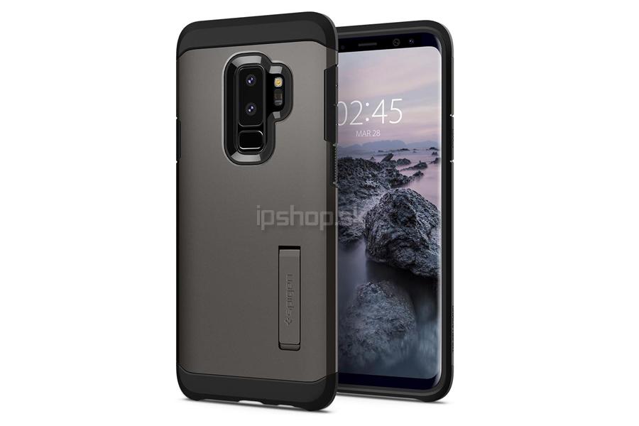 Spigen Tough Armor Gunmetal Grey - luxusný ochranný kryt (obal) na Samsung  Galaxy S9 Plus šedý fc0bb88609c