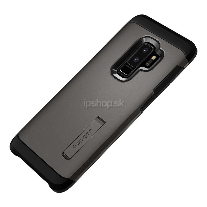 Spigen Tough Armor Gunmetal Grey - luxusný ochranný kryt (obal) na Samsung  Galaxy S9 a8fa361f448