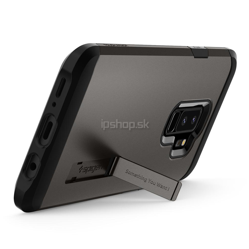 Spigen Tough Armor Gunmetal Grey - luxusní ochranný kryt (obal) na Samsung  Galaxy S9 800edf0955c