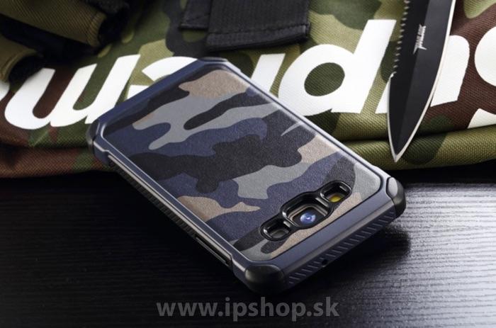 Camo Series Blue - odolný outdoorový ochranný kryt (obal) modrý na Samsung  Galaxy A7 cfa52b9e2c6