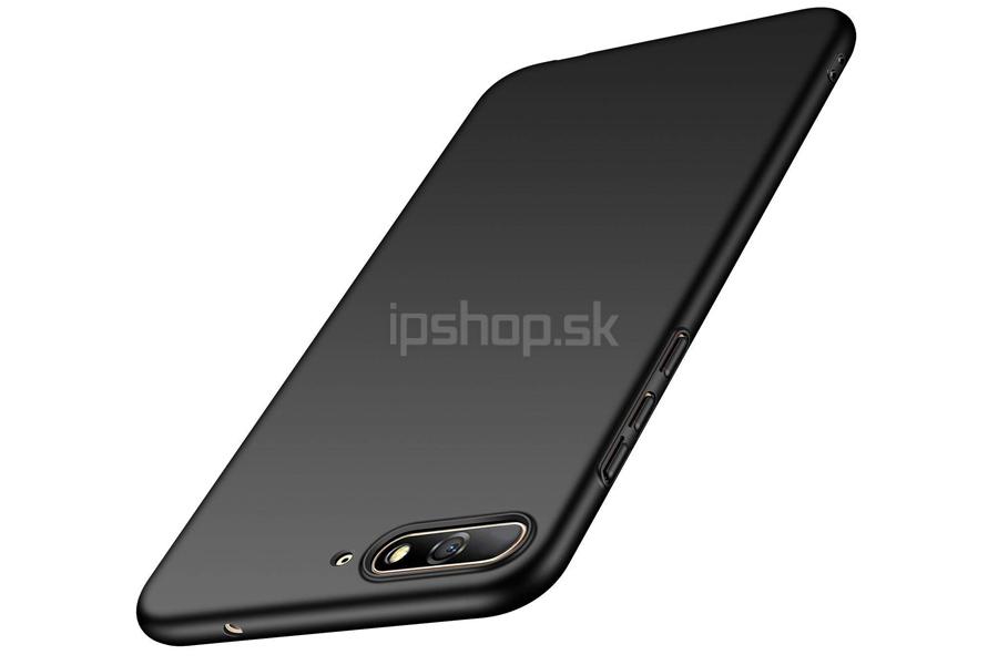 Slim Line Elitte Black (čierny) - plastový ochranný kryt (obal) na Huawei  Y6 2018 f9ab7c7fa9b