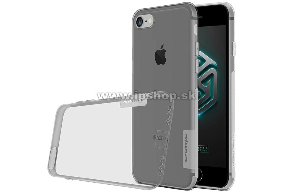 Luxusní ochranný kryt (obal) Nature TPU Grey (šedý) na Apple iPhone 7    iPhone 8 ab84b019e58