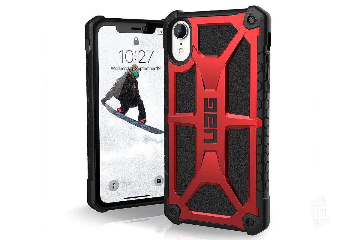 Urban Armor Gear (UAG) Monarch Case (červený) - Ultra odolný ochranný kryt  na Apple iPhone XR b2972232306