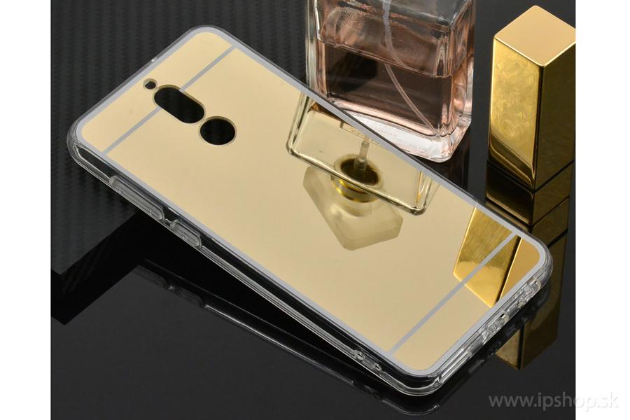 fa5dd83de Ochranný kryt (obal) TPU so zrkadlovým efektom na HUAWEI Mate 10 Lite zlatý