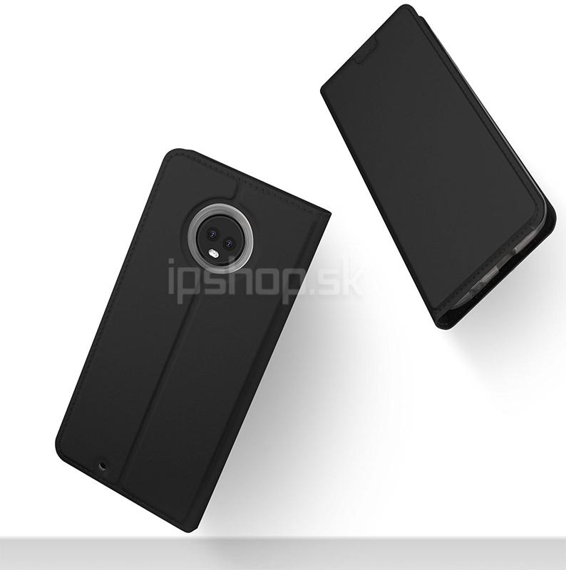 Luxusné Slim Fit puzdro Black (čierne) pre Moto G6 Plus - iPshop 8f0a3772a2d
