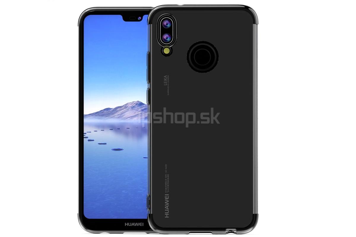 c5dbdf4b3 Ochranný kryt (obal) Glitter Series Black na Huawei P20 Lite - čierny **