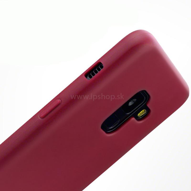Ochranný gelový kryt (obal) farba Red Matte (červený matná) na Samsung  Galaxy d185dd6e289