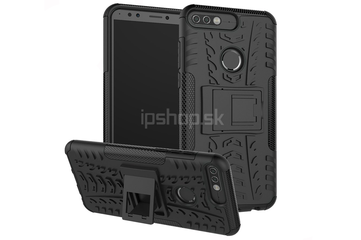 Spider Armor Case Black (čierny) - odolný ochranný kryt (obal) na Honor 96718cd279c