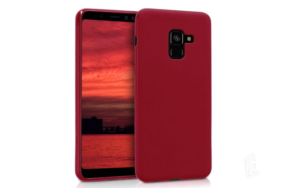 Ochranný gelový kryt (obal) farba Red Matte (červený matná) na Samsung  Galaxy d98513beba8