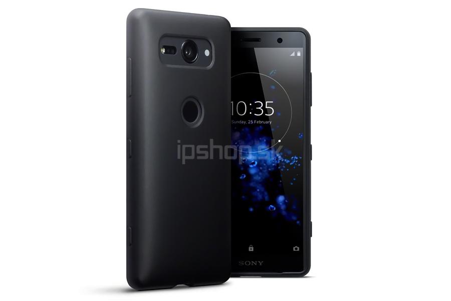 Ochranný gelový kryt (obal) farba Black Matte (matná čierna) na Sony Xperia  XZ2 Compact 2f08890c7ed