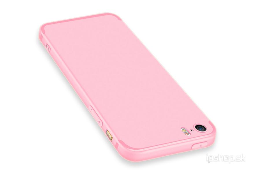 Ochranný kryt (obal) TPU Soft Pink (růžový) na Apple iPhone 5S   iPhone SE 14ab6788ac0