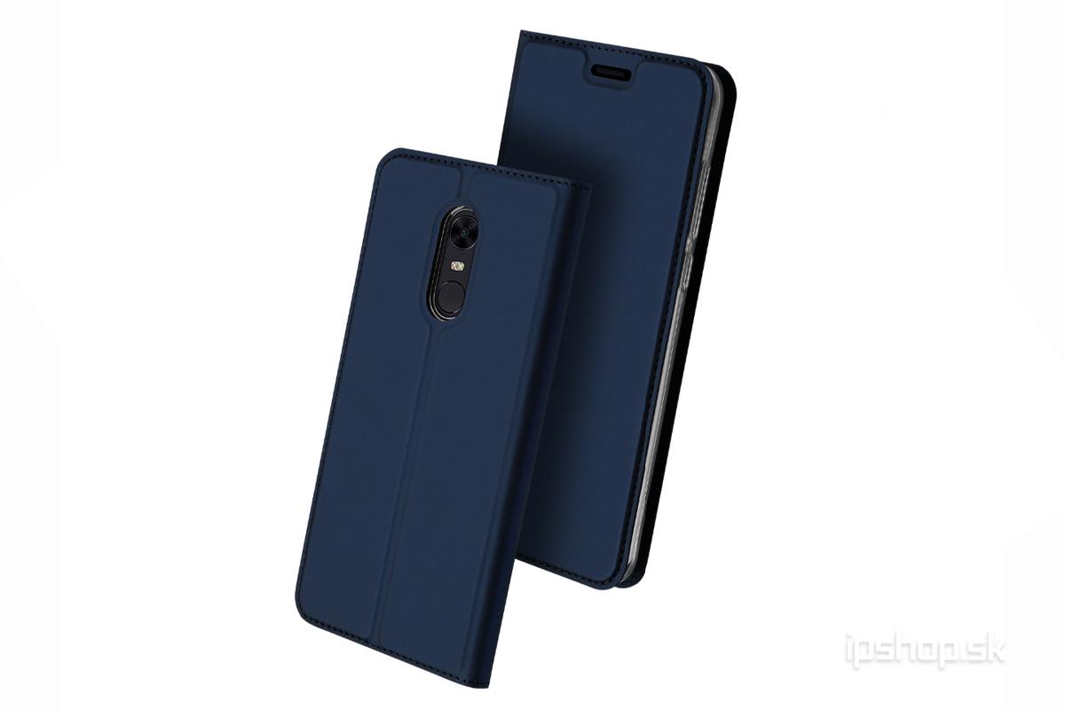 c30b19c9f0799 Luxusné Slim Fit puzdro (tmavomodré) na XIAOMI Redmi 5 Plus - iPshop