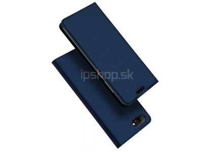 Luxusn� Slim Fit puzdro Navy Blue (tmavomodr�) na Honor 10