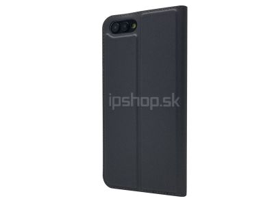 Luxusné Slim Fit puzdro Grey (šedé) na Honor View 10