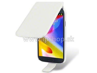 Flip pouzdro pro Samsung Galaxy Grand Duos (i9080/i9082) Basic Line bílé