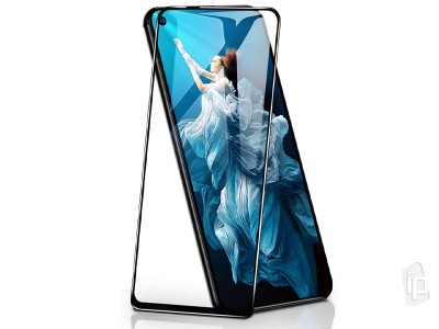 3D Full Glue Tempered Glass (čierne) - Tvrdené sklo na displej na Honor 20 / 20 Pro / HUAWEI Nova 5T