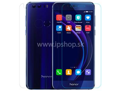 Amazing H - ultra odolná skleněná fólie (tvrzené sklo) na displej pro Honor 8 + fólie na zadní stranu