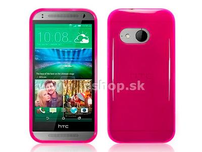 Ochranný kryt (obal) TPU růžový na HTC One Mini 2