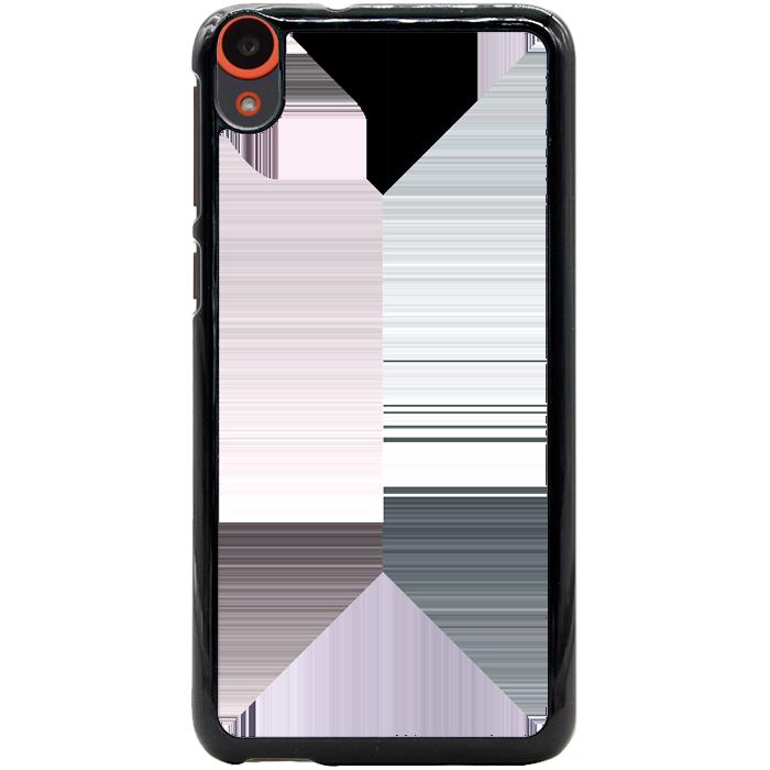 Kryt (obal) s potiskem (vlastní fotkou) s černým okrajem pro HTC Desire 820 + fólie na displej