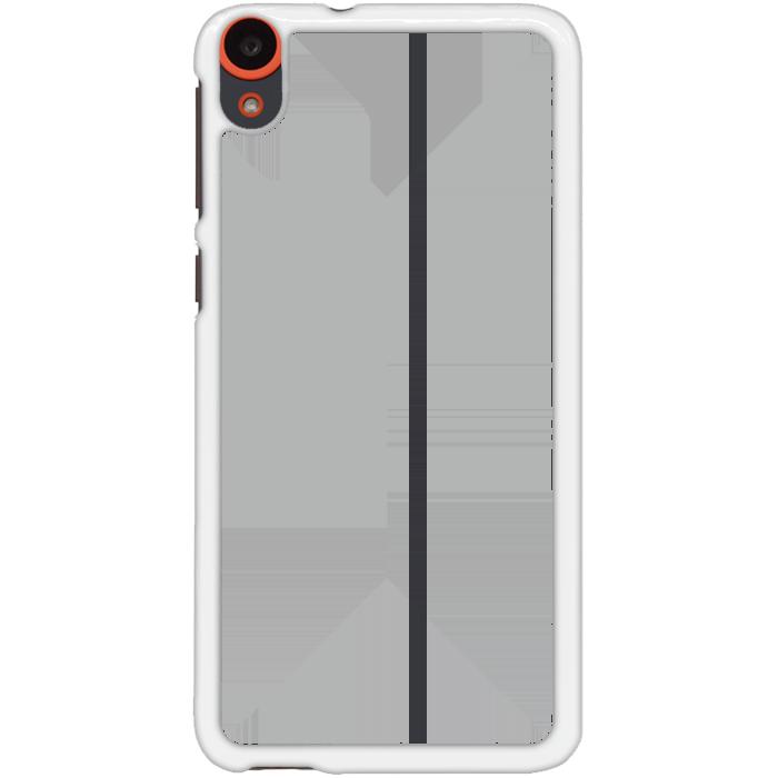 Kryt (obal) s potiskem (vlastní fotkou) s bílým okrajem pro HTC Desire 820 + fólie na displej