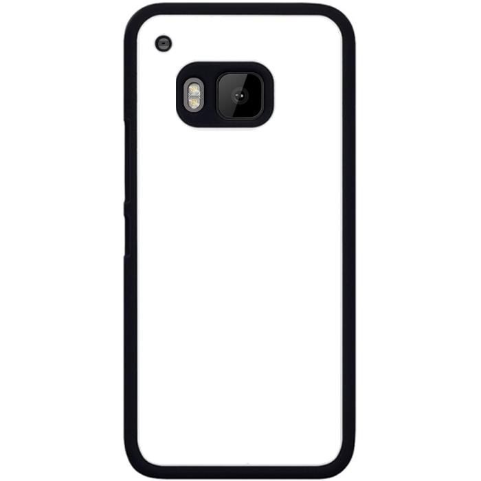 Kryt (obal) s potiskem (vlastní fotkou) s černým okrajem pro HTC One (M9) + fólie na displej