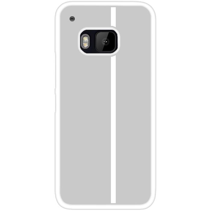 Kryt (obal) s potiskem (vlastní fotkou) s bílým okrajem pro HTC One (M9) + fólie na displej