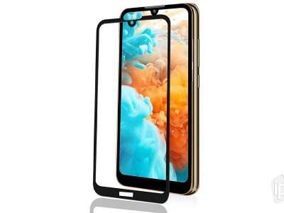 2.5D Full Glue Tempered Glass (čierne) TYP II - Tvrdené sklo na displej na Honor 8S 2020 / Honor 8S / Huawei Y5 2019