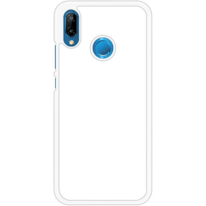 Kryt (obal) s potlačou (vlastnou fotkou) s bielym plastovým okrajom pre  Huawei P20 Lite - iPshop fd6a7fe3dc0