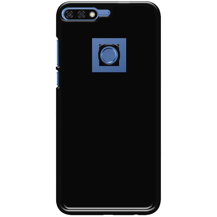 Kryt (obal) s potlačou (vlastnou fotkou) s čiernym plastovým okrajom pre  Huawei Y7 Prime 2018   Honor 7C - iPshop a3eb1cb5e64