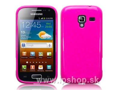 Ochranný gelový/gumový kryt (obal) na Samsung Galaxy Ace 2 i8160 Candy Pink (růžový)
