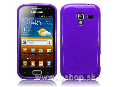 Ochranný gelový/gumový kryt (obal) na Samsung Galaxy Ace 2 i8160 Candy Purple (fialový)