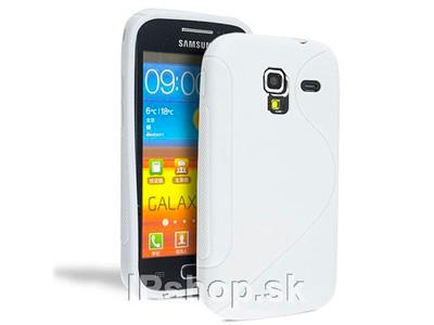 Ochranný gelový/gumový kryt (obal) White Wave na Samsung Galaxy Ace 2 (i8160) bílý **AKCE!!