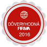 dôveryhodná firma 2016