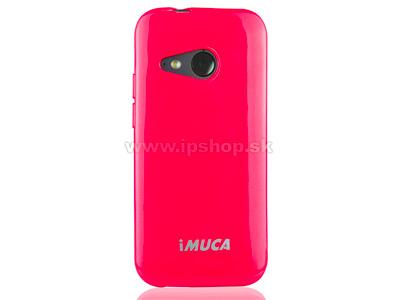 Luxusní ochranný kryt (obal) purpurový Metallic Color TPU na HTC One mini 2 + fólie zdarma + stylus