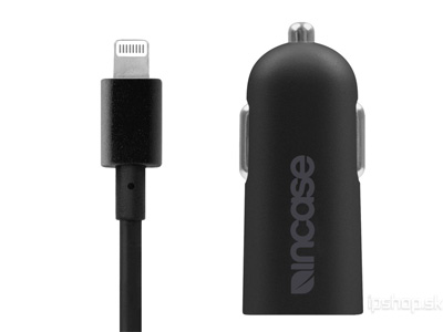 Incase Mini Car Charger 2.4A - autonabíjačka s konektorom Lightning